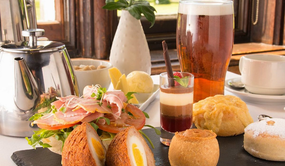 Afternoon Tea & the Savoury Platter